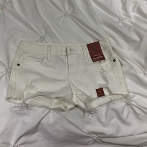 Arizona white jean shorts